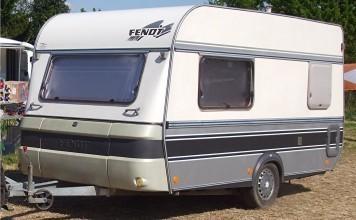 tweedehands caravan