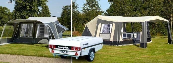 Camp-let vouwwagen