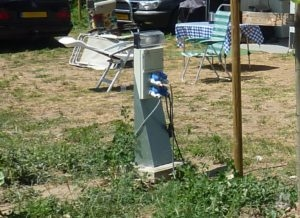 stroomkast camping