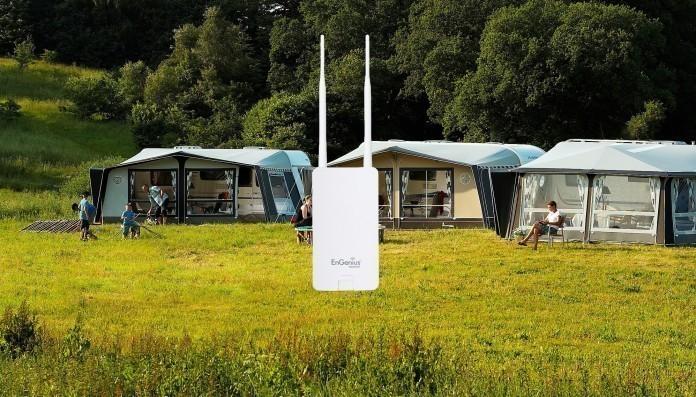 wifi versterker - wifi op de camping