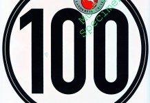 tempo 100 keuring sticker