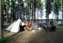 Camping Rådastrands in Zweden