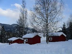 Stavn Camping og Hytter vinter
