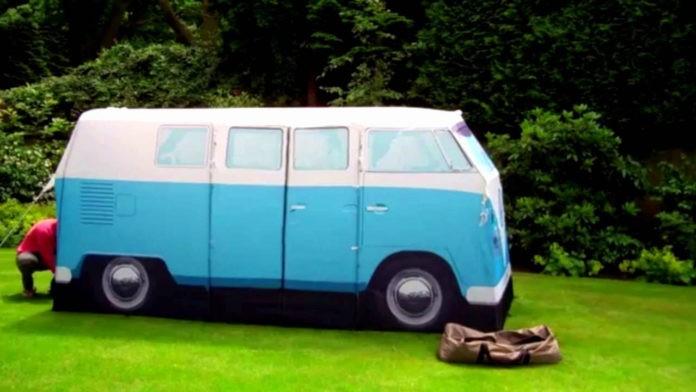 VW Camper van exact scale replica tent