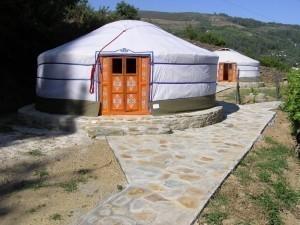 Yurts tenten Mongolië