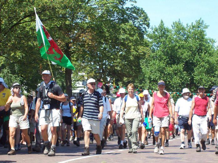 Wandelaars vierdaagse