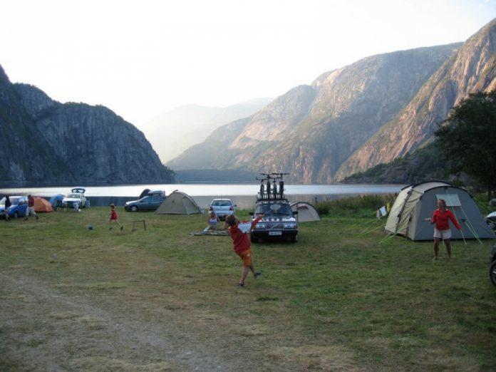 camping Sæbø