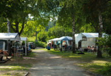 Camping am Waldbad
