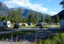 Camping jostedal