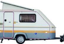 Eriba Eribelle caravan