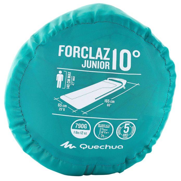 Kinderslaapzak Quecha Forclaz 10
