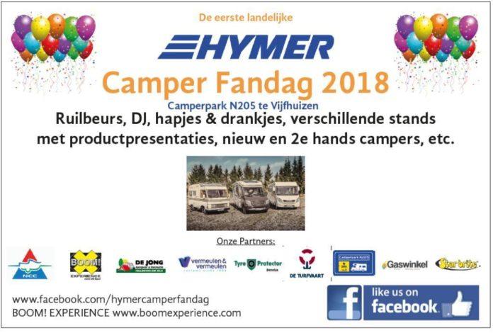 Hymer camper fandag