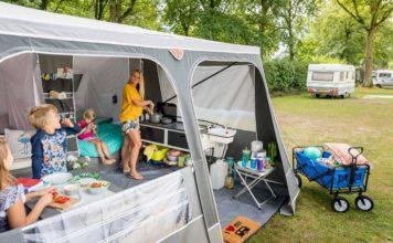 tent, caravan of camper