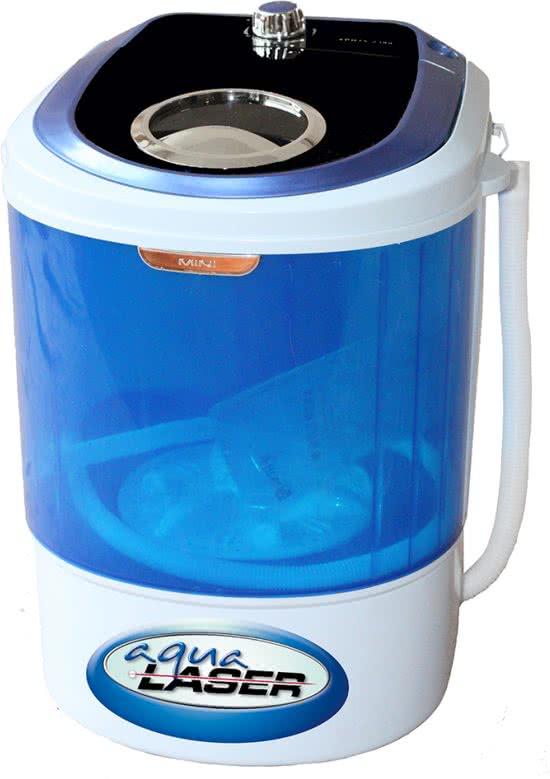 mini wasmachine zonder centrifuge