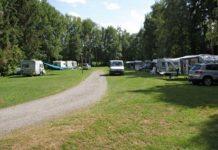 Campingplatz am Berg