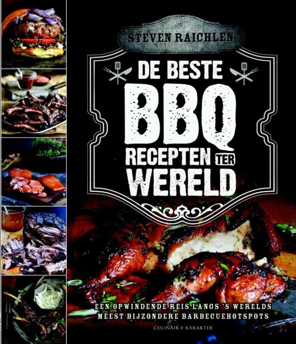 Boek: De beste BBQ-recepten ter wereld