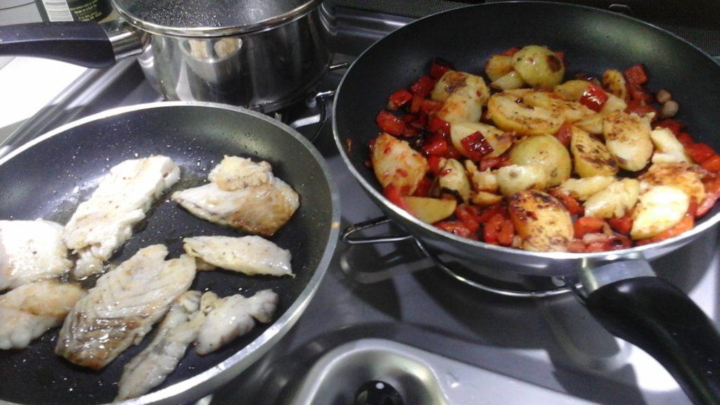 stressvrij koken op 2 pitten