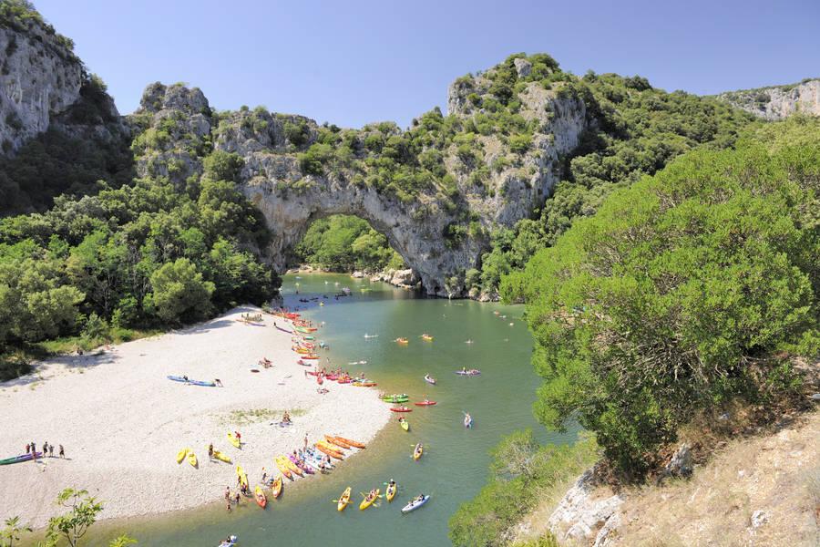 RCN-la Bastide en Ardeche-omgeving-strand (3)