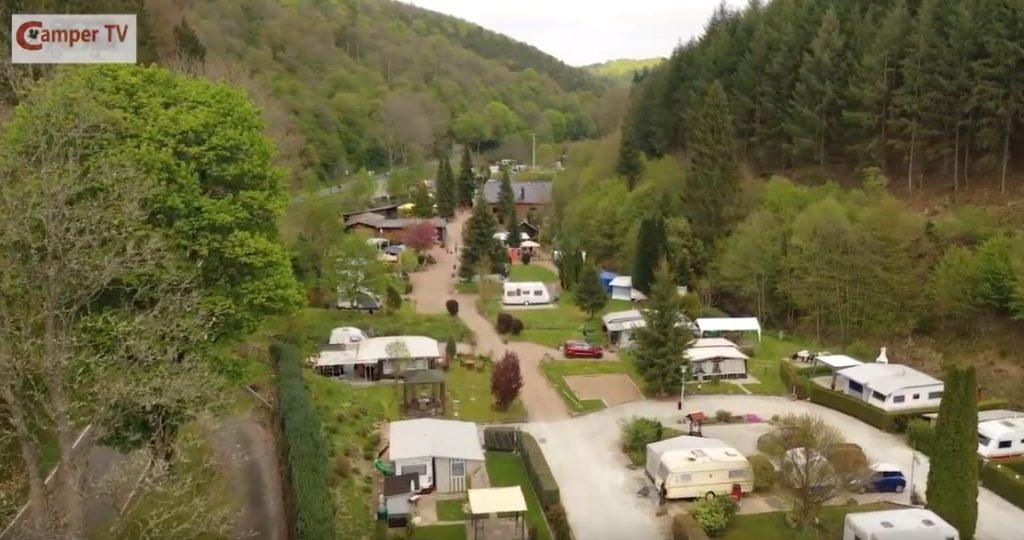 Camping Wisperpark camper TV