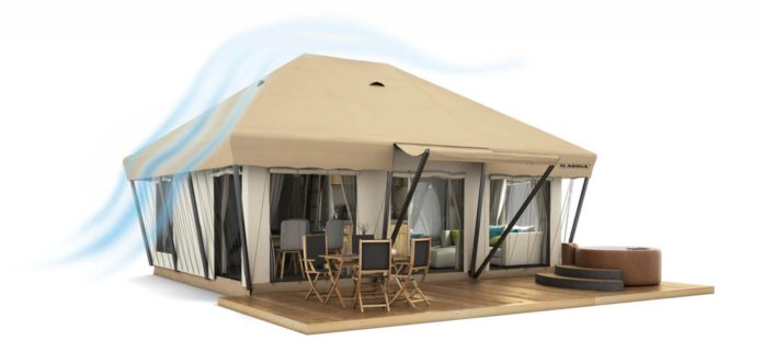 Adria's mobiele tenten
