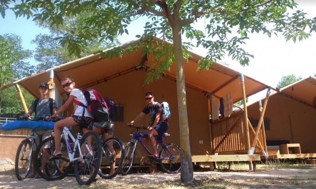 Camping loret blau Glamping tent