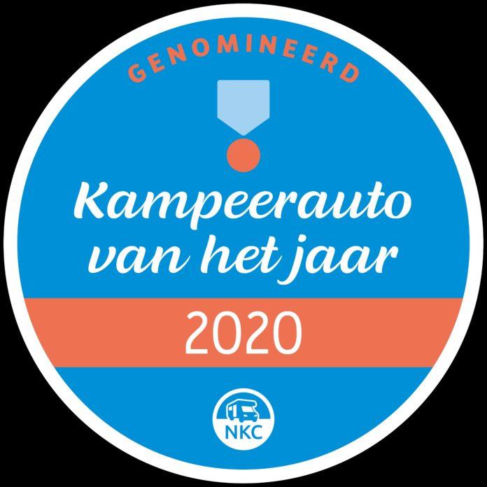 kampeerauto van het jaar 2020