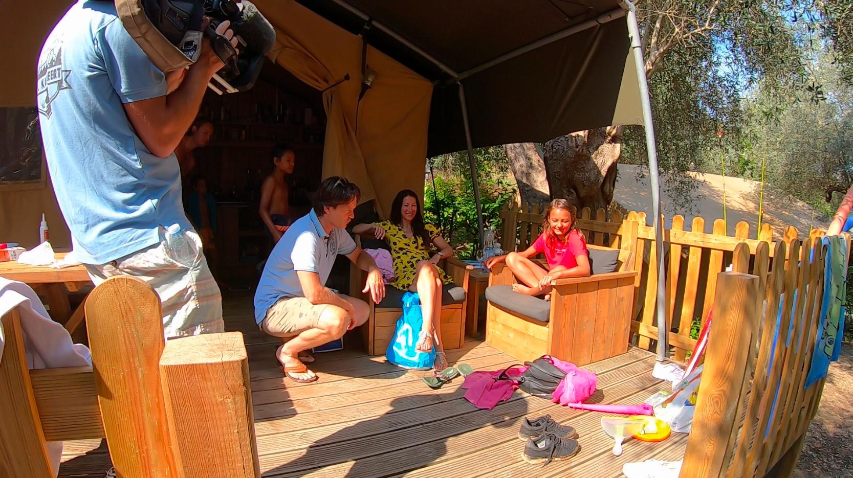 RTL kampeert op de camping