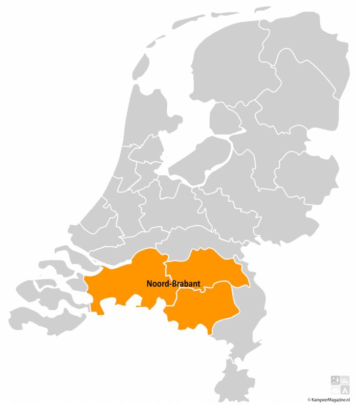Campings in Noord-Brabant