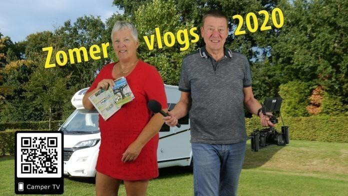 Nieuwe serie Zomer-Vlogs van Camper TV
