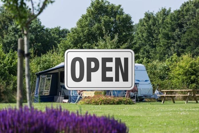 campings weer open