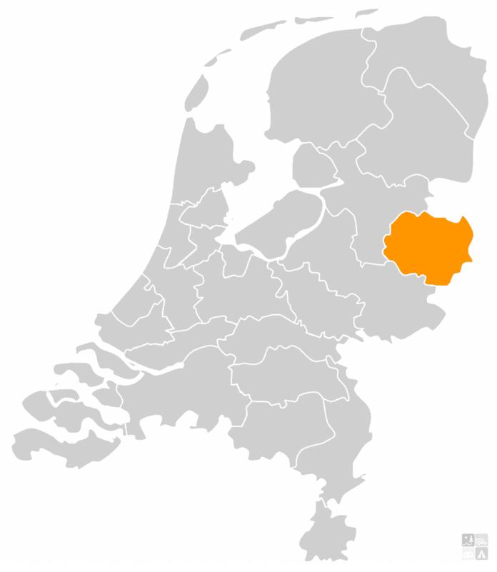 kaart nederland twente