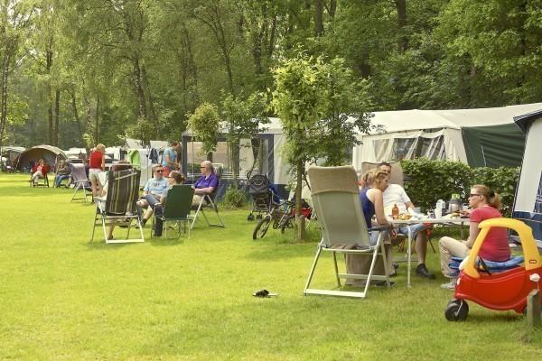 Kamperen op een Brabantse camping