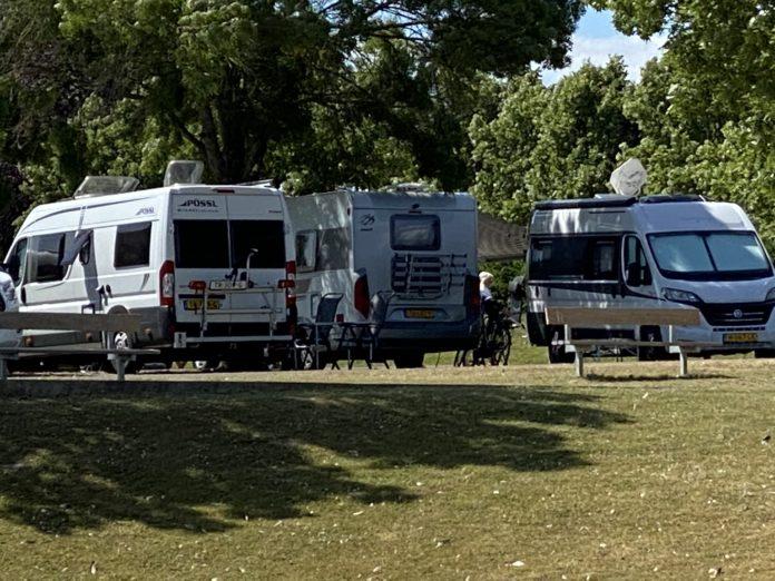 Verkoop campers en caravans groeit explosief