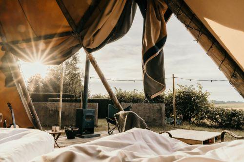 Sunfield Tipi word wakker in een droom