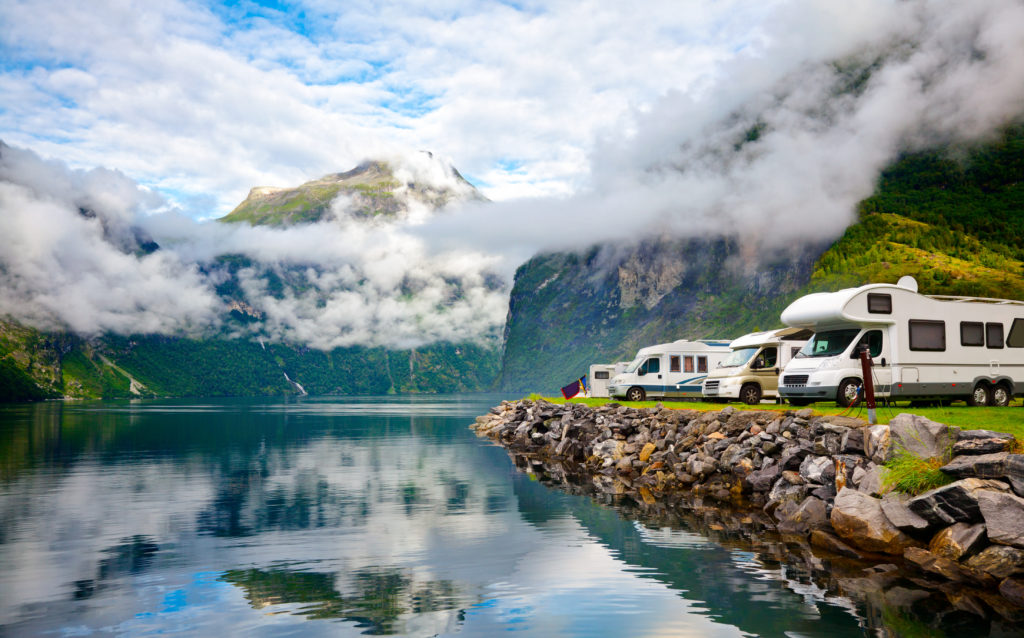 camper- en caravanshowroom