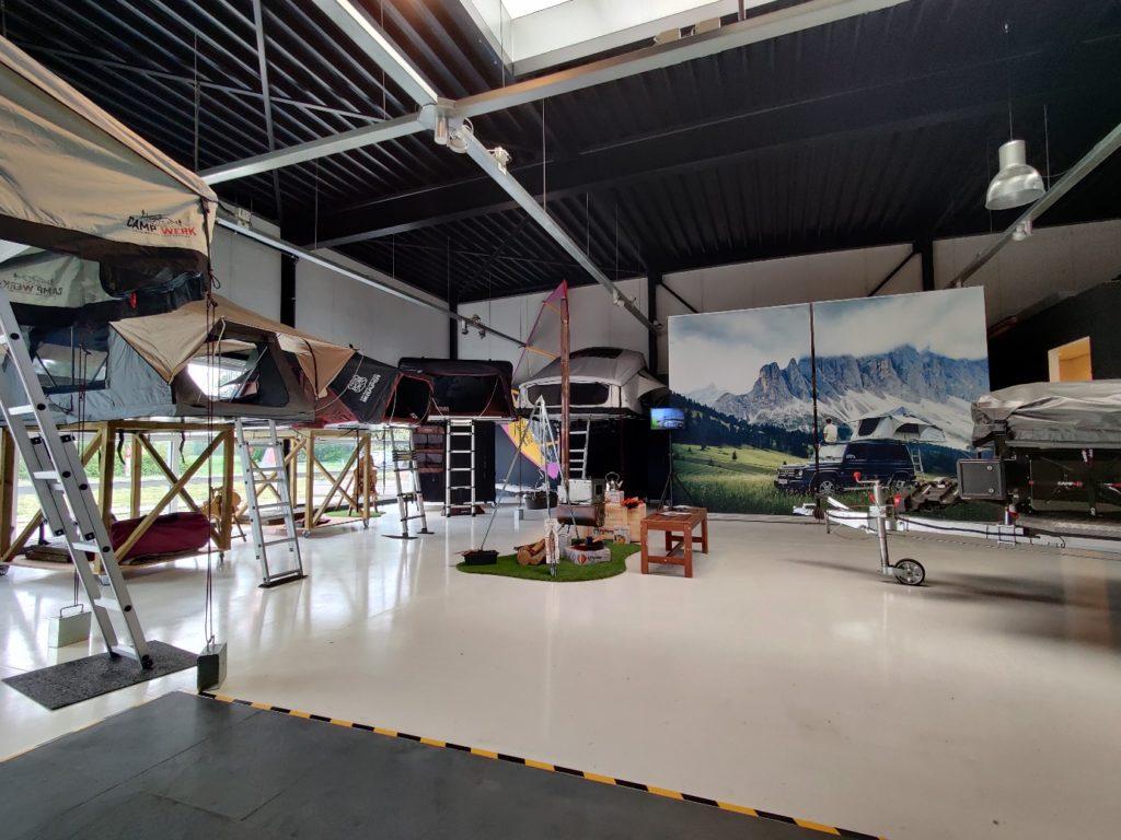 showroom van CAMPWERK Nederland in Tynaarlo