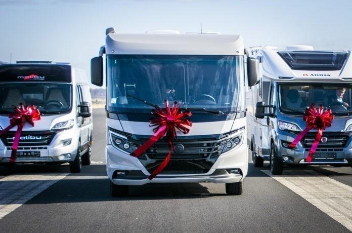 Malibu, Adria en Niesmann+Bischoff NKC Kampeerauto van het jaar 2021