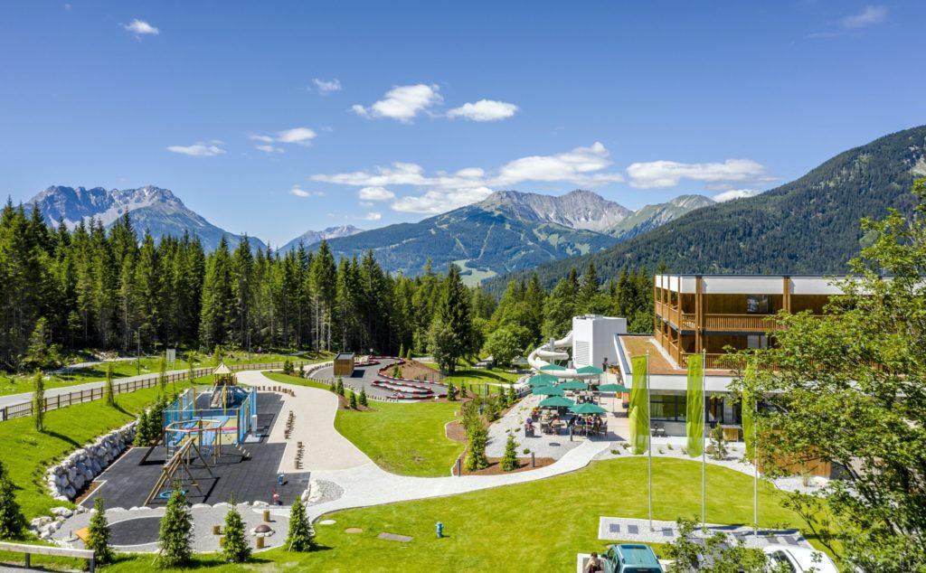 Zugspitz Resort glamping-de-luxe in de Alpen