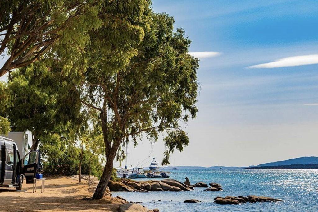 privé strand