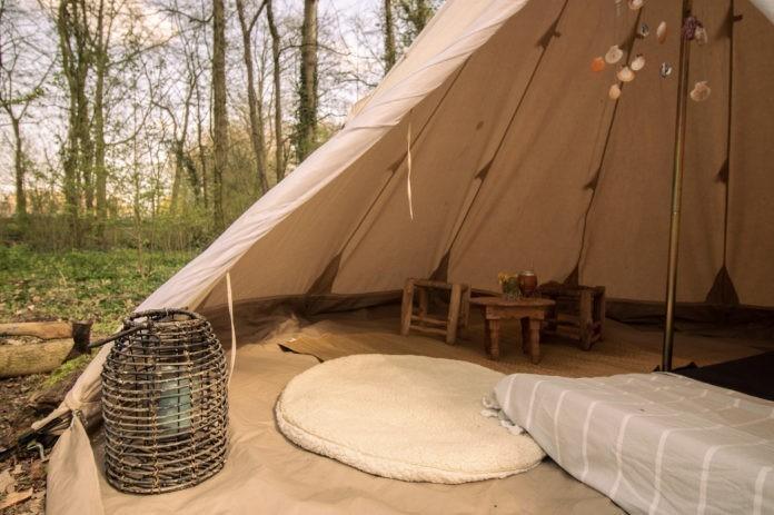 RØSTIG een unieke pop-up camping
