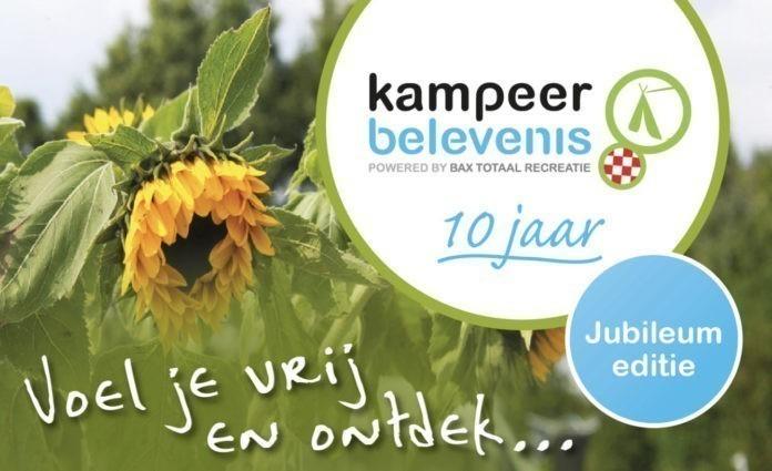 Kampeerbelevenis Brabant jubileumeditie