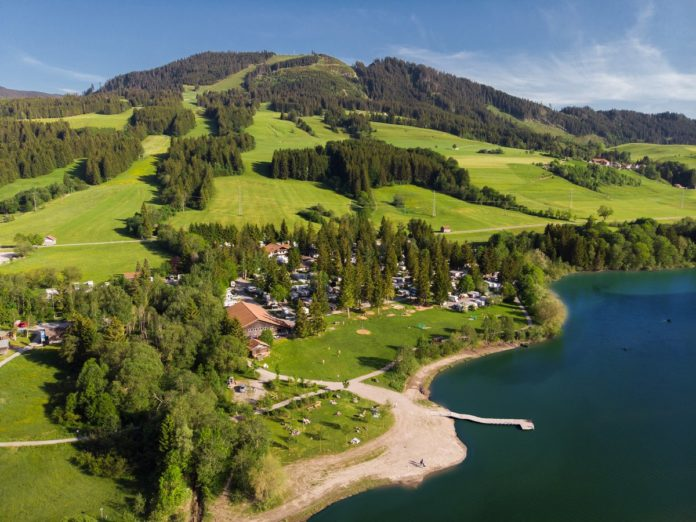 Camping Grüntensee International voor duurzame ontspanning
