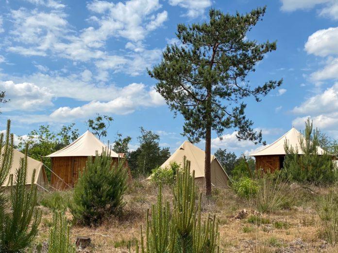 Pop-up campings zijn een blijvertje in zomer 2021
