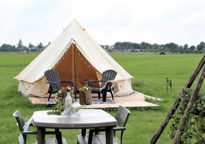 Pop-up camping de Nix Hoeve voor rust en ruimte