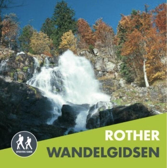 Rother Wandelgids Zwarte Woud-Zuid Wandelen in de Duitse bergen