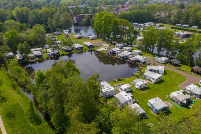 330% meer overnachtingen op campings
