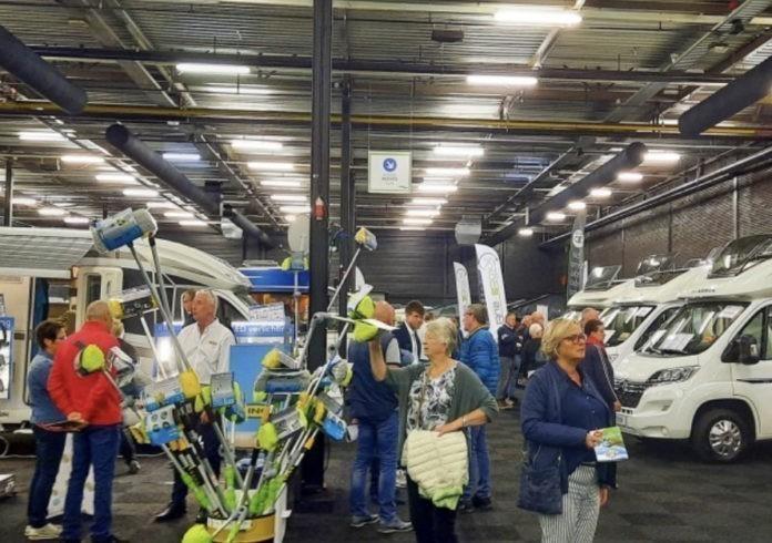 Bijna 8.000 bezoekers voor Camperbeurs in Evenementenhal Hardenberg
