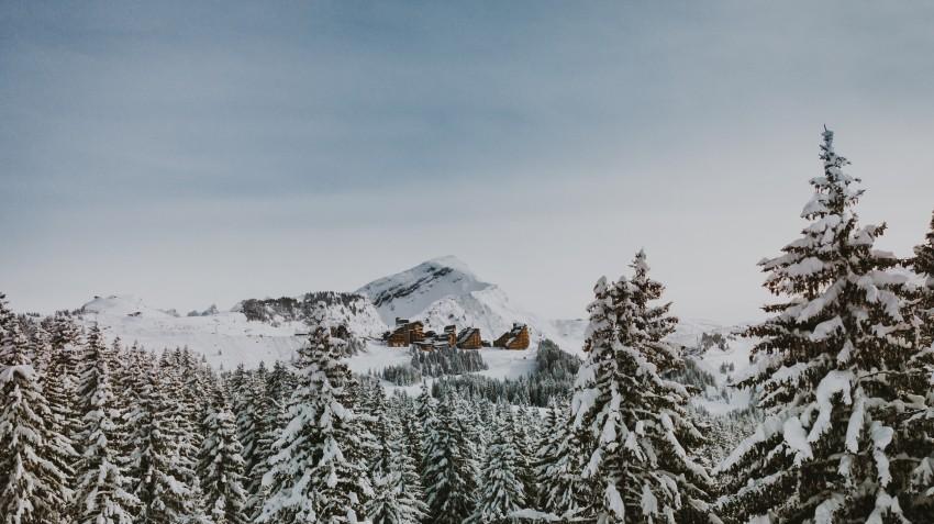 Isolatie dankzij sneeuw