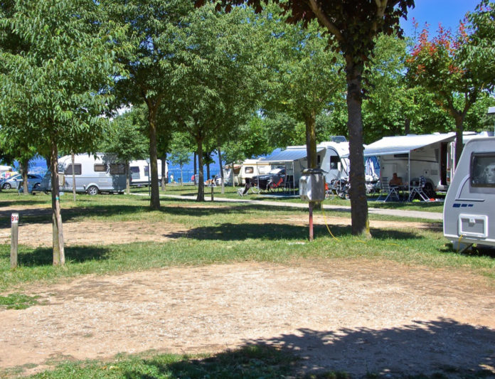 Camping Campeggio Del Garda in symbiose met de natuur