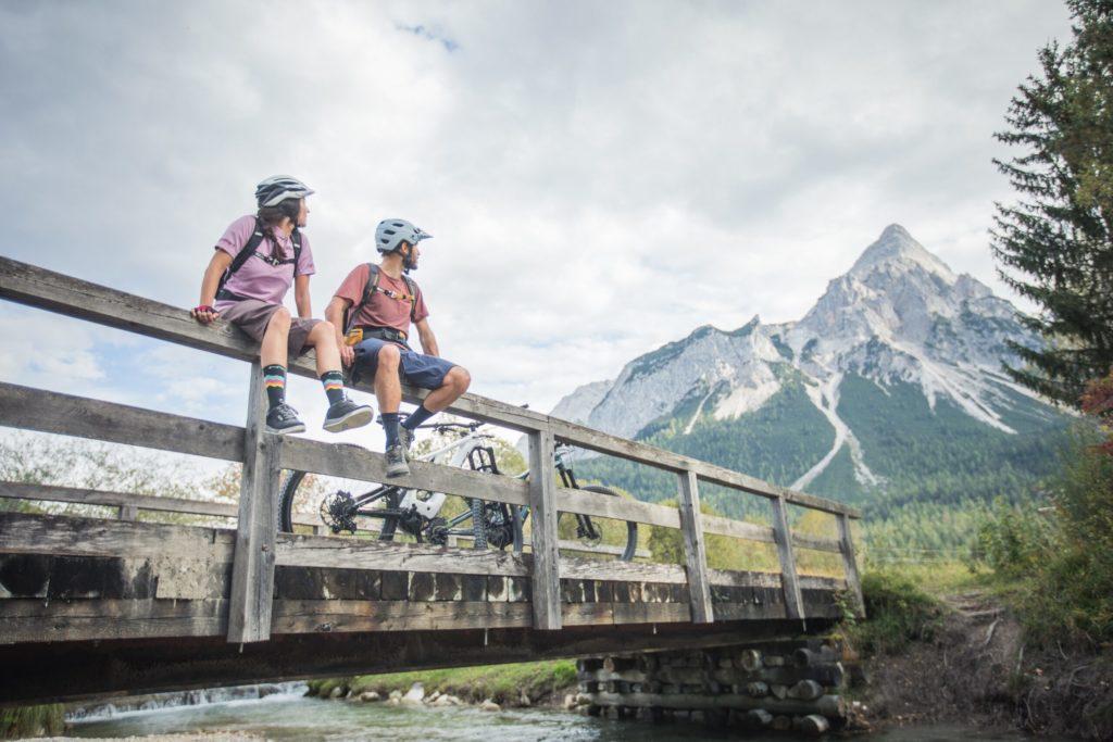 E-Biken in der Tiroler Zugspitz Arena
